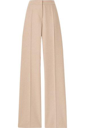 Max Mara | Obbia camel hair and cashmere-blend straight-leg pants | NET-A-PORTER.COM