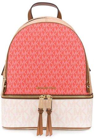 Rhea logo-print backpack