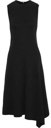 Meline Asymmetric Crepe Dress