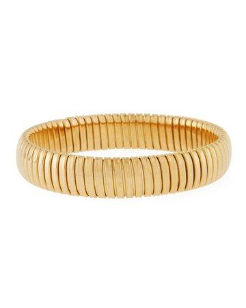 Alberto Milani 18k Gold Slip-On Bangle