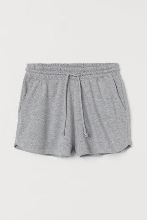 Sweatshorts High Waist - Gray