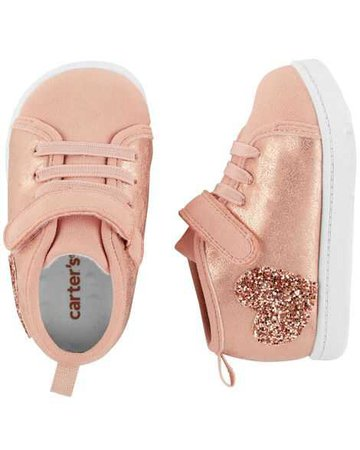 Baby Girl Carter's High Top Every Step Sneakers | Carters.com