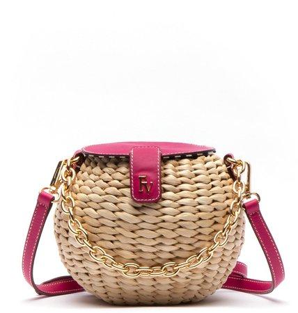 Honeypot Woven Crossbody Bag