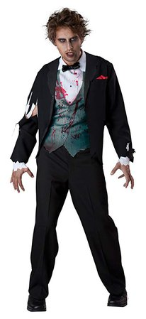 Amazon.com: Gruesome Groom Adult Costume - X-Large: Toys & Games