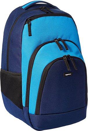 Amazon.com: AmazonBasics Campus Laptop Backpack - Blue: Computers & Accessories