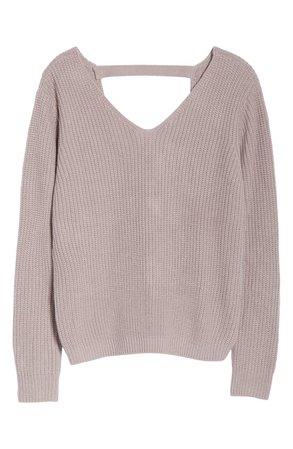Onzie Ballet Sweater purple