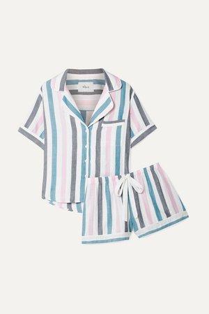 Rails | Striped voile pajama set | NET-A-PORTER.COM