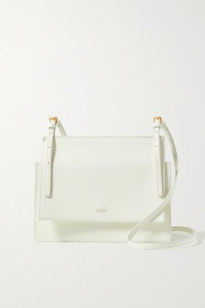 Alexis Leather Shoulder Bag - White