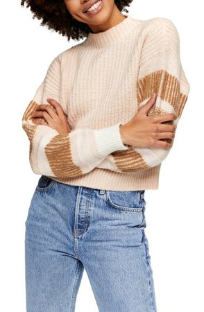 Topshop Stripe Crewneck Sweater | Nordstrom