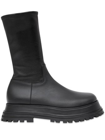Burberry mid-calf Chunky Boots - Farfetch
