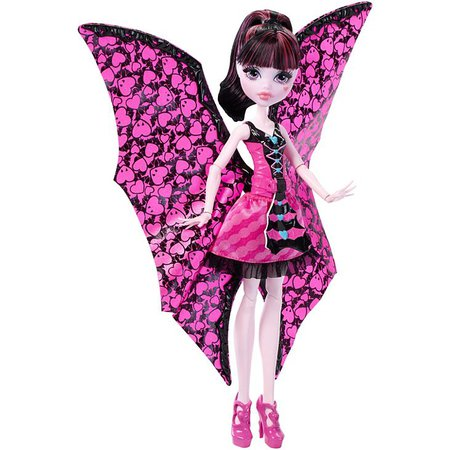Monster High® Ghoul-To-Bat Transformation Draculaura™ Doll | DNX65 | Mattel Shop