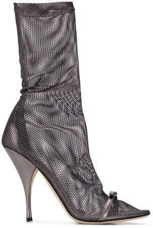 Perforated Sock Boots
