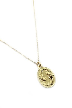 Talon Gold Pisces Necklace | Garmentory