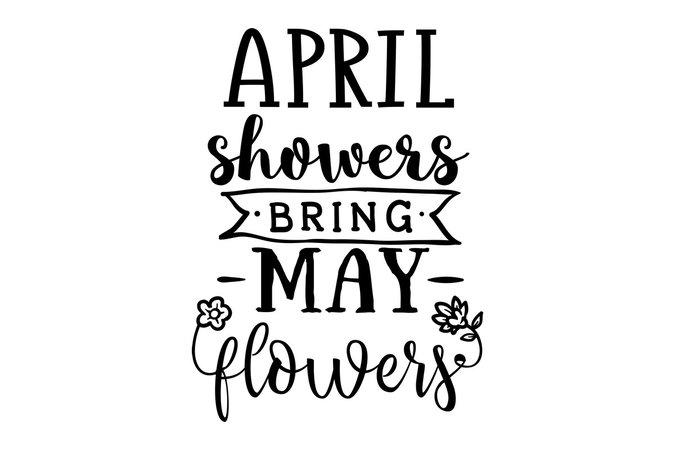 April showers quote