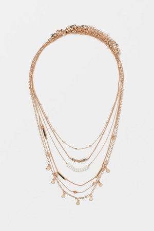 6-pack Necklaces - Gold-colored - Ladies | H&M US