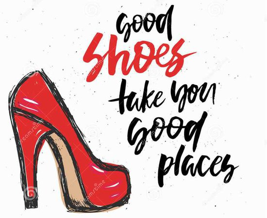 shoes text