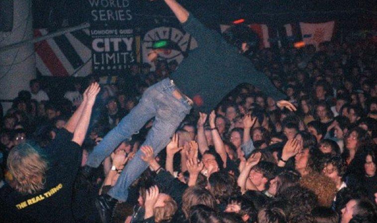 crowd dive