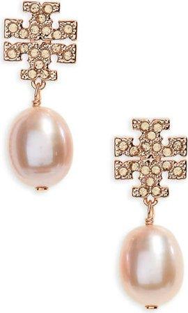Tory Burch Kira Baroque Pearl Drop Earrings | Nordstrom