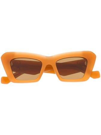 Loewe Polerade Solglasögon Med Stora Bågar - Farfetch