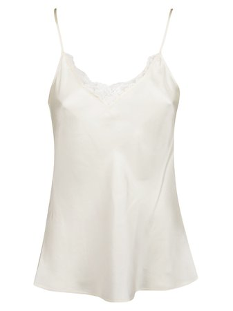 Tory Burch Top Lace Pieced Cami