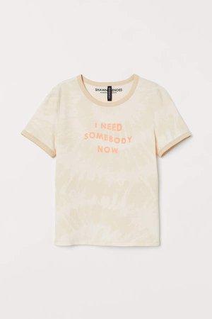 Graphic T-shirt - White
