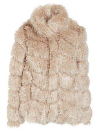 Shoppa Fluffy Fur Jacket - Online Hos Nelly.com
