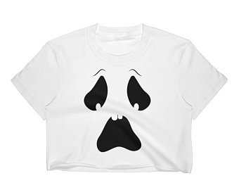 Boo Ghost Costume Halloween Costume Halloween Shirt Kawaii | Etsy