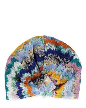 Missoni Mare Chevron Knit Headband   INTERMIX®