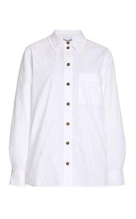 Ganni Cotton Poplin Shirt