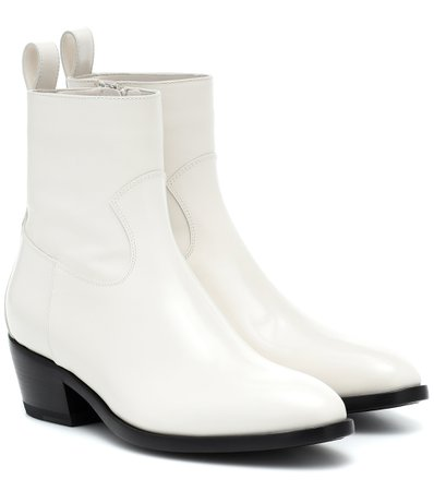 Jimmy Choo - Jesse leather ankle boots | Mytheresa
