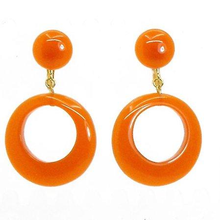 retro 1960s earrings