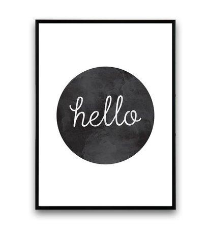 Hello Text