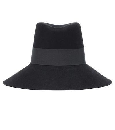 Nina rabbit-felt hat