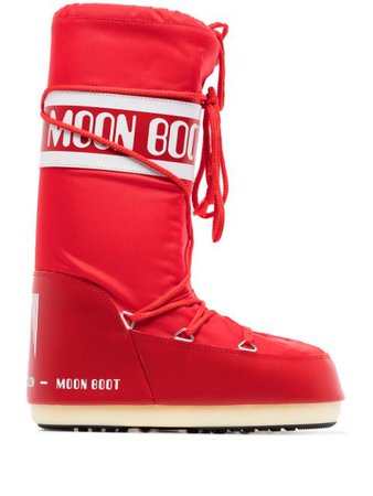 Moon Boot Icon logo snow boots - FARFETCH