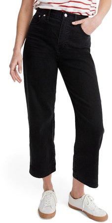 Slim Fit Wide Leg Jeans