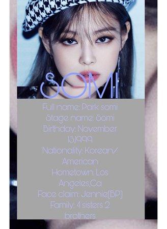 Dance mentor Somi profile