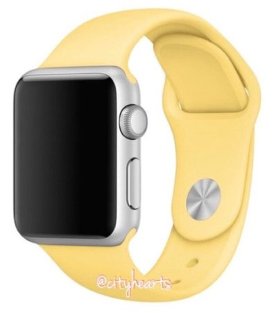 yellow Apple Watch band