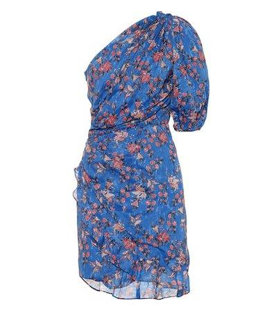Esther floral-printed cotton dress