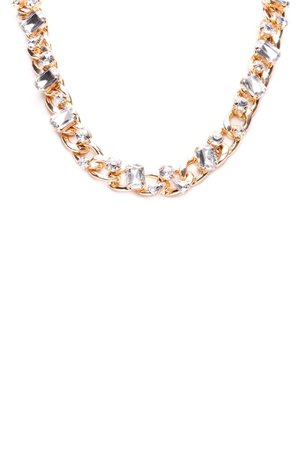 Bad Romance Chain Necklace - Gold – Fashion Nova