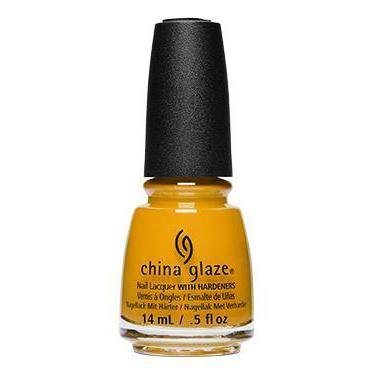 China Glaze - Mustard The Courage 0.5 oz - #84296 – Beyond Polish