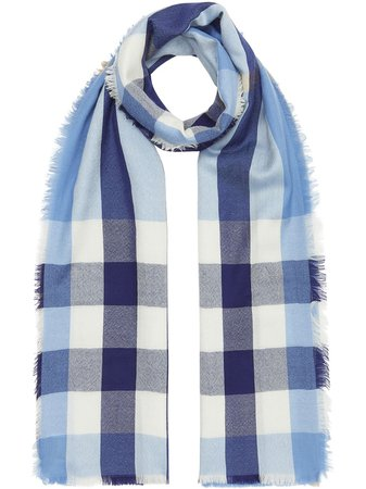 Burberry Check Cashmere Scarf - Farfetch