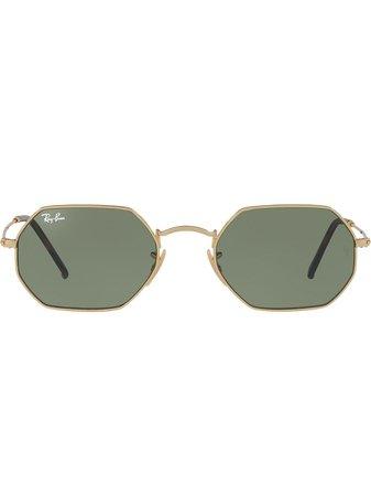 Ray-Ban octagonal-frame Sunglasses - Farfetch