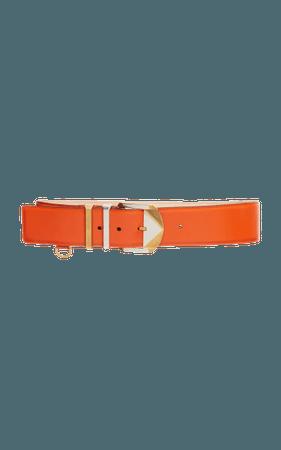 orange belt versace