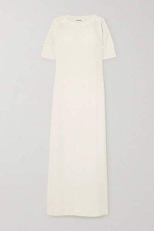 Cotton-jersey Maxi Dress - Cream