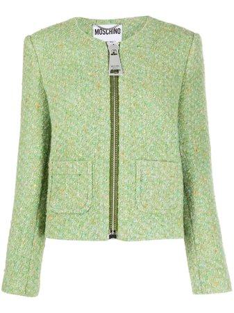 Moschino Tweed Jacket - Farfetch