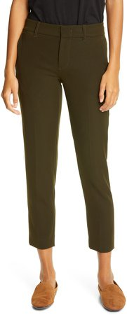 Soft Tailored Crop Pants
