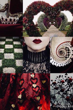 red queen aesthetic