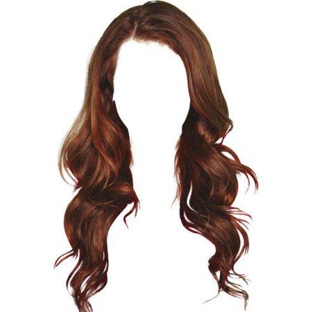 Wavy Auburn Hair