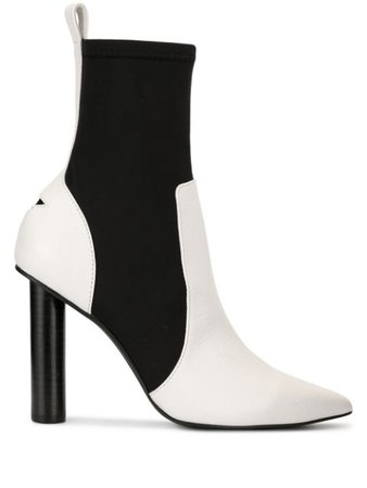 Shop white & black Senso Dominique boots with Express Delivery - Farfetch