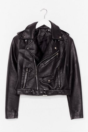 Into Moto Sports Faux Leather Jacket | Nasty Gal